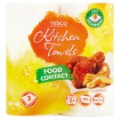 Tesco Kitchen Towels Food Contact 2 Rolls