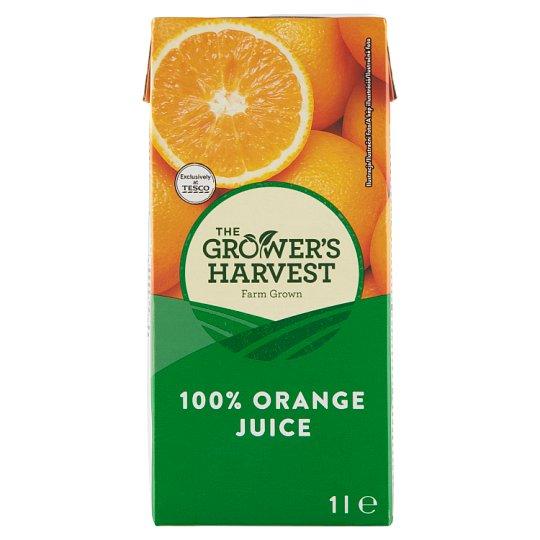 The Grower's Harvest 100% pomerančová šťáva 1l
