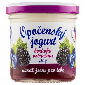Bohemilk Opočenský jogurt borůvka ostružina 150g