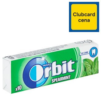 Wrigley's Orbit Spearmint without Sugar 10 Dragees 14g