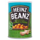 Heinz Garlic and Herbs Cooked Beans in Tomato Sauce 390g