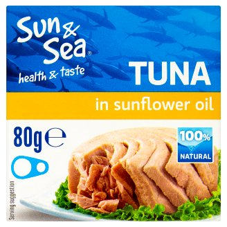 Sun & Sea Tuna in Sunflower Oil 80g