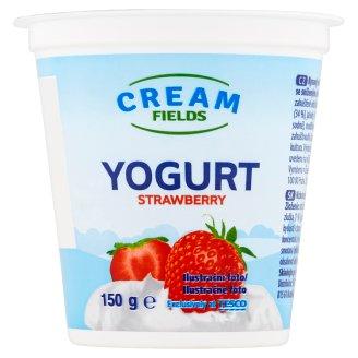 Cream Fields Jogurt s jahodovou příchutí 150g