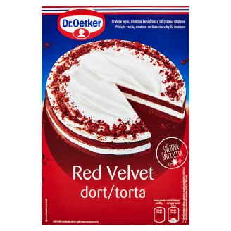 Dr. Oetker Red Velvet Cake Mix 385g