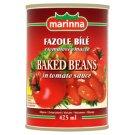 Marinna Fazole bílé v tomatové omáčce 400g