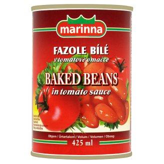 marinna Fazole bílé v tomatové omáčce 425ml