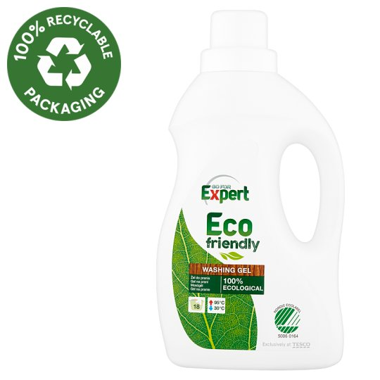 Go for Expert Eco Friendly Washing Gel 18 Washes 1L