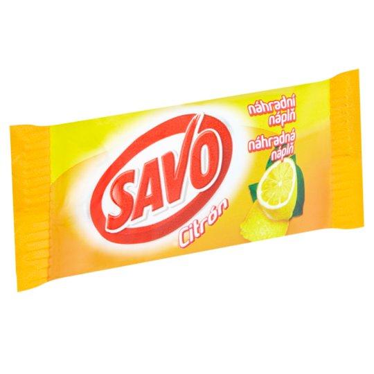 Savo Tough WC Block Lemon Refill 35g