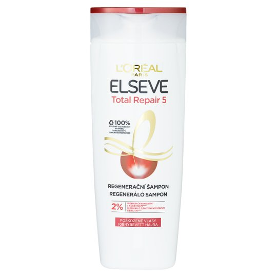 L'Oréal Paris Elseve Total Repair 5 Restorative Shampoo 400ml