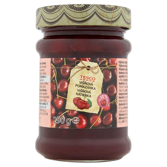 Tesco Cherry Spread 290g