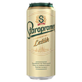 Staropramen Light Lager Beer 0.5L