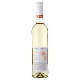 Víno Z Kobylí Rulandské šedé Gallery 2013 jakostní víno odrůdové polosuché bílé 0,75l