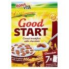 Bona Vita Good Start cereální mini sušenky s čokoládou 7 x 43g