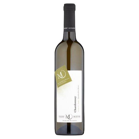 Vinselekt Michlovský Chardonnay víno s přívlastkem pozdní sběr bílé suché 0,75l