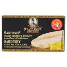 Kaiser Franz Josef Exclusive Sardinky filety ve slunečnicovém oleji s citronem 90g