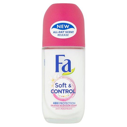 Fa kuličkový antiperspirant Soft & Control Orange Blossom Scent 50ml