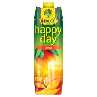 Rauch Happy Day Mangový nápoj vyrobený z mangového pyré/koncentrátu maracujové šťávy 1l