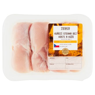 Tesco Čerstvé Kuřecí Maso Chicken Thigh without Skin and Bones