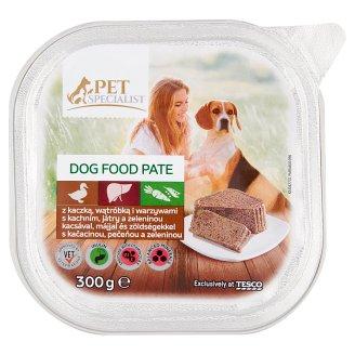 Tesco Pet Specialist Paštika s kachním, játry a zeleninou 300g