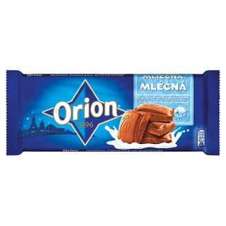 ORION Milk Chocolate without Sugar 50g