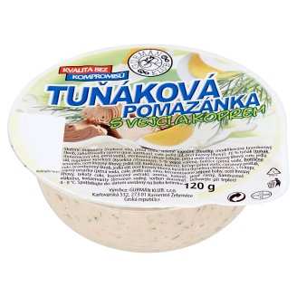 Gurmán Klub Tuna Spread with Eggs and Dill 120g