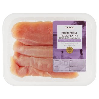 Tesco Čerstvé Krůtí Maso Turkey Breast Sliced Fillet 400g