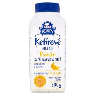 Mlékárna Kunín Kefir Milk Banana 300g