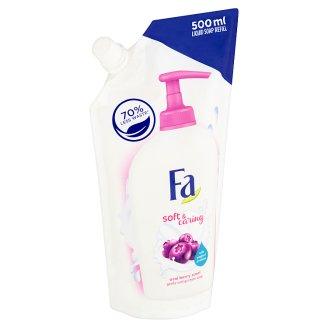 Fa NutriSkin Pečující krémové mýdlo s vůní ovoce acai náhradní náplň 500ml