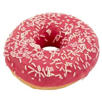 Donut s polevou s příchutí jahodovou 58g