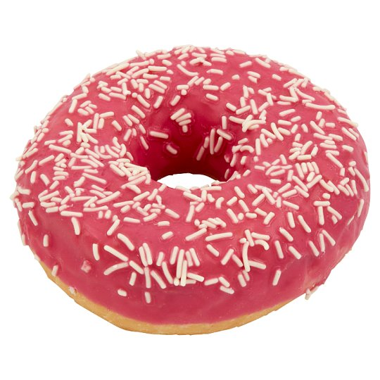Donut with Topping with Strawberry Flavour 56g