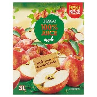 Tesco 100% jablečná šťáva 3l
