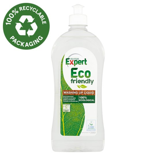 Go for Expert Eco Friendly Washing Up Liquid 500ml