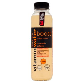 Body&Future Boost nesycená vitamínová voda pomeranč - citrón 400ml