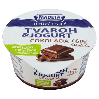 Madeta Jihočeský Cottage Cheese with Yoghurt 60% Chocolate 135g