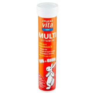 MaxiVita Kids Multivitamin with Orange Flavor 20 Sparkling Tablets 76g