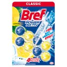 Bref Power Aktiv Juicy Lemon tuhý WC blok 2 x 50g