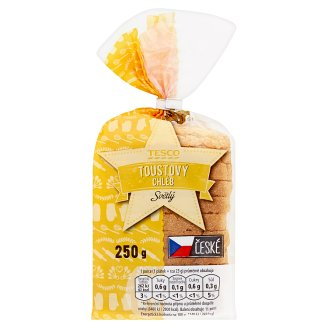 Tesco Toustový chléb světlý 250g