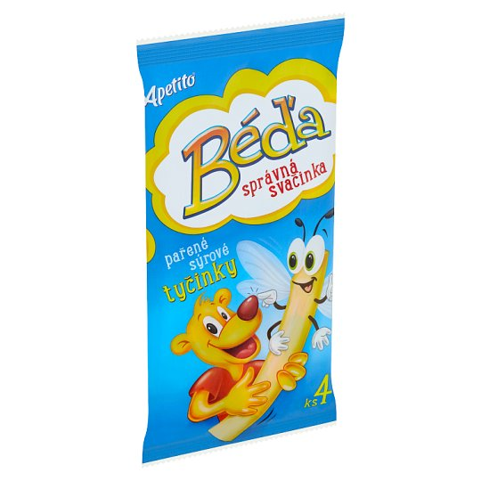 Apetito Béďa Steamed Cheese Sticks 80g