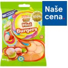 Tesco Candy Carnival Mini Burgers Jelly with Fruit Flavor with Concentrated Grape Juice 100g
