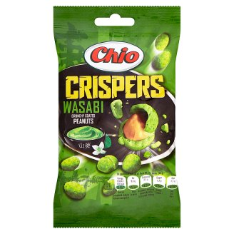 Chio Crispers Wasabi Crunchy Coated Peanuts 65g