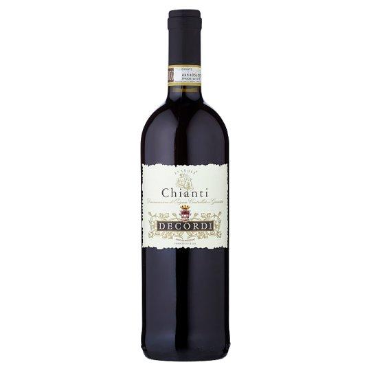 Decordi Chianti DOCG plné červené víno 750ml