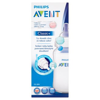 Philips Avent Classic+ Feeding Bottle 3m+ 330ml