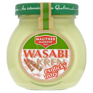 Mautner Markhof Wasabi Exotic Spicy Horseradish 100g