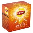 Lipton Brilliant GOLD černý aromatizovaný čaj 20 sáčků 38g