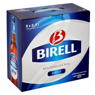 Birell Non-Alcoholic Light Beer 8 x 0.5L