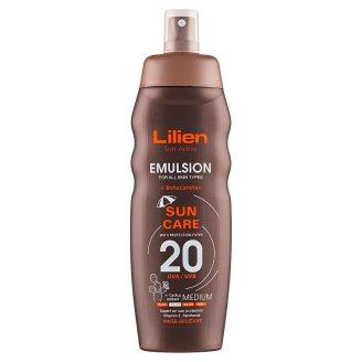 Lilien Sun Active Voděodolná emulze SPF 20 200ml