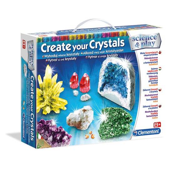 Clementoni Hra vytvářej své krystaly