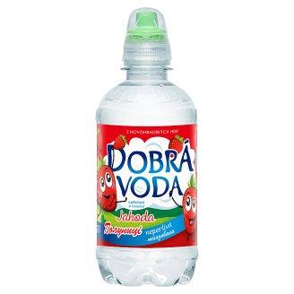 Dobrá voda Neperlivá s příchutí jahoda 0,33l
