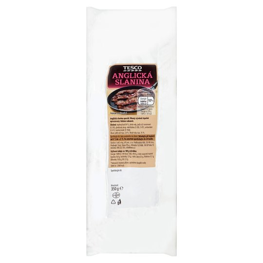 Tesco English Bacon 350g
