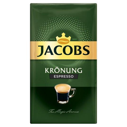 Jacobs Krönung Espresso Coffee Roasted Ground 250g